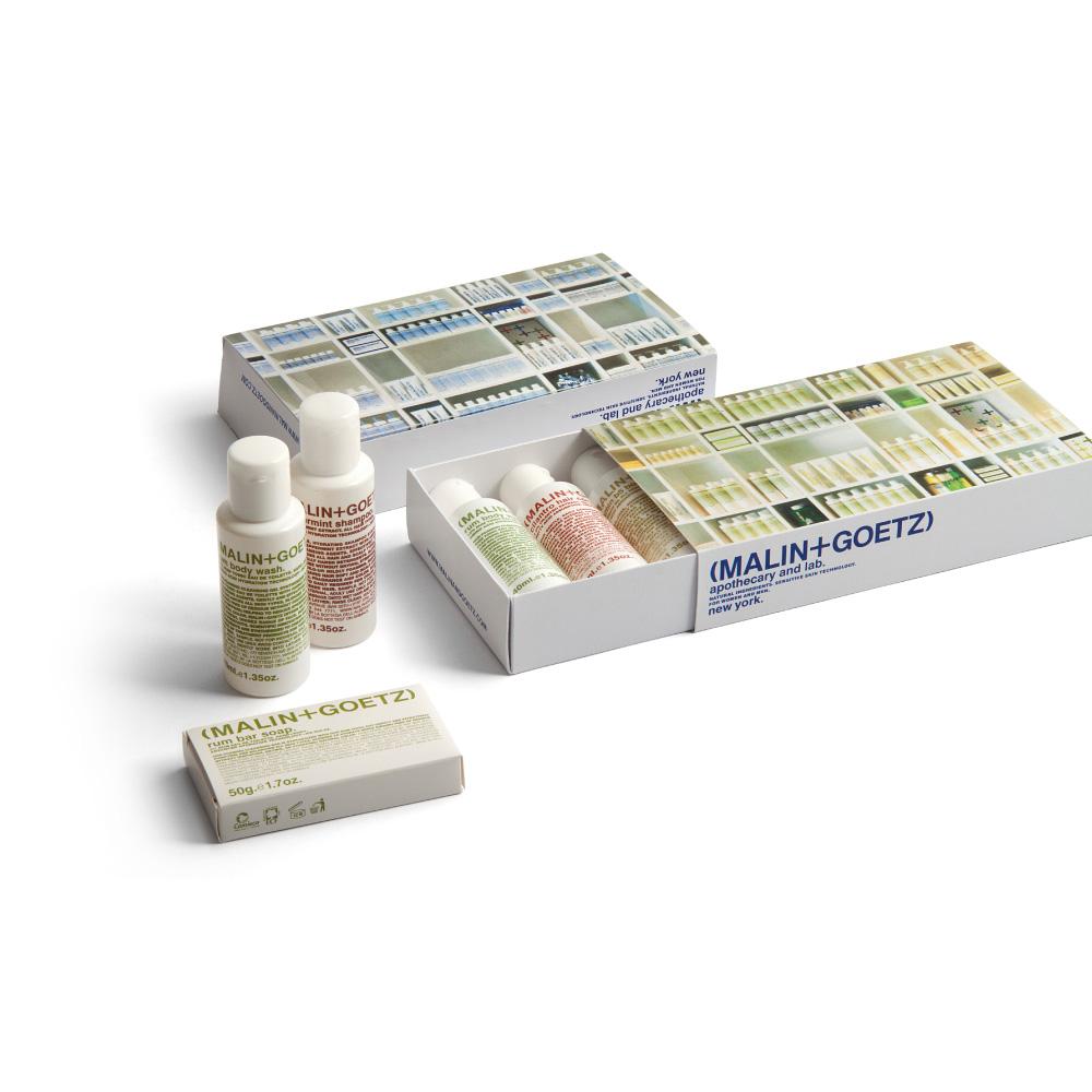 Hotelska kozmetika MALI + GOETZ RUM, PEPPERMINT, VITAMIN B5, CILANTRO (bočice)